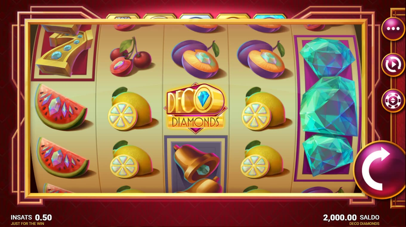 Deco Diamonds Slot Bonus