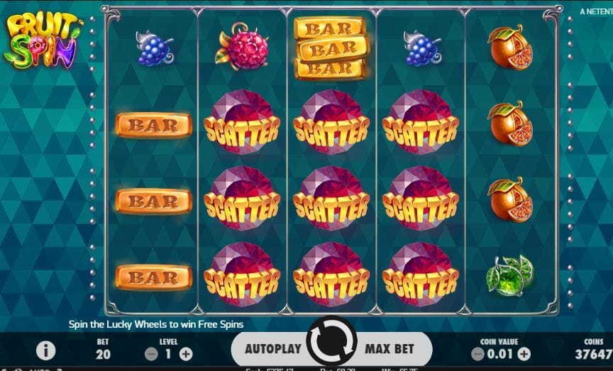 Fruit Spin Slot Gameplay