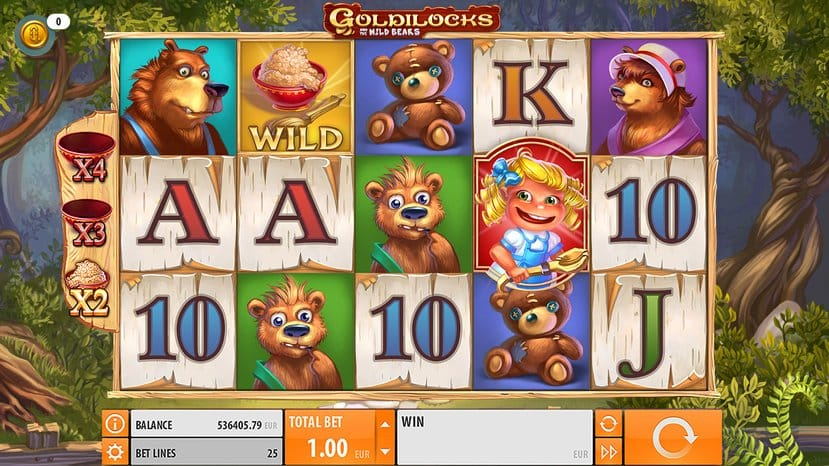 Goldilocks online slot games